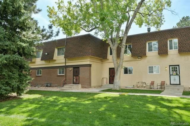 7755 E Quincy Avenue T38, Denver, CO 80237 (#6502529) :: James Crocker Team