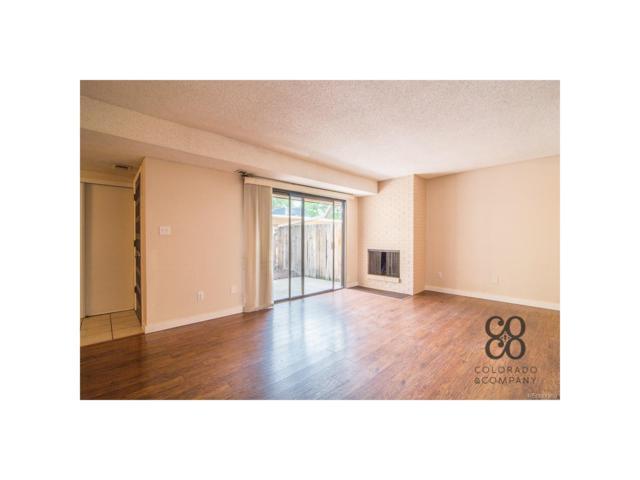 7995 E Mississippi Avenue A16, Denver, CO 80247 (#6505615) :: ParkSide Realty & Management