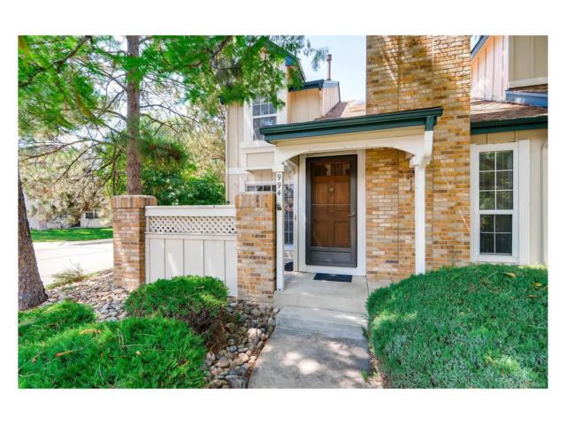 994 S Fairplay Street, Aurora, CO 80012 (MLS #6509724) :: 8z Real Estate