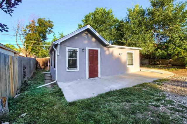 1069 S Newton Street, Denver, CO 80219 (#6513250) :: The Griffith Home Team