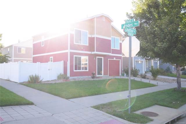 18632 E Chaffee Place, Denver, CO 80249 (#6513826) :: The DeGrood Team