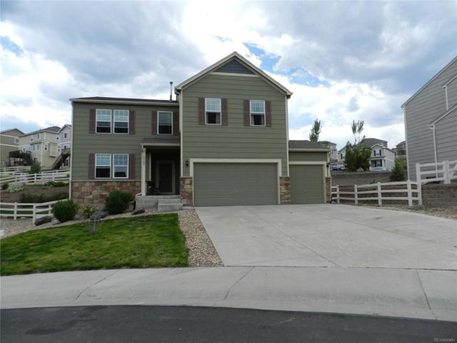 5389 Clearbrooke Court, Castle Rock, CO 80104 (#6515864) :: The Galo Garrido Group