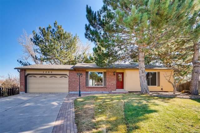 1286 S Telluride Street, Aurora, CO 80017 (MLS #6515948) :: 8z Real Estate