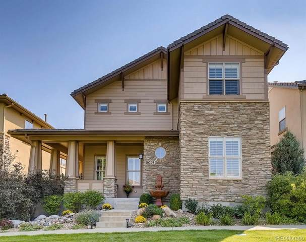 10224 Bluffmont Drive, Lone Tree, CO 80124 (#6520257) :: The HomeSmiths Team - Keller Williams