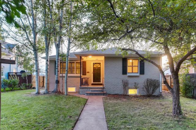 1019 S York Street, Denver, CO 80209 (#6520662) :: Real Estate Professionals