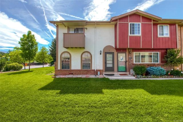 1219-A Willow Bend Circle #8, Colorado Springs, CO 80918 (#6522883) :: The City and Mountains Group