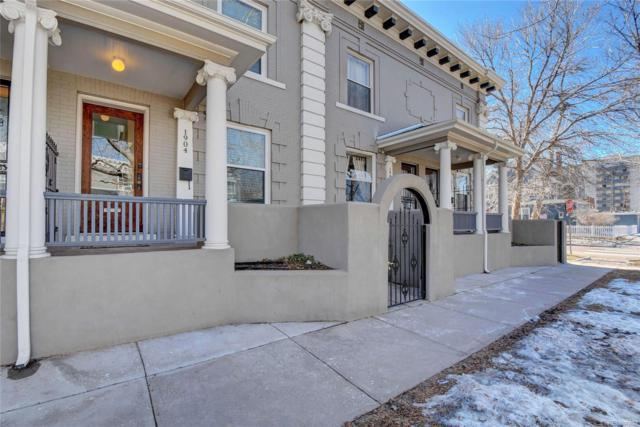 1904 E 16th Avenue, Denver, CO 80206 (#6523338) :: The Heyl Group at Keller Williams