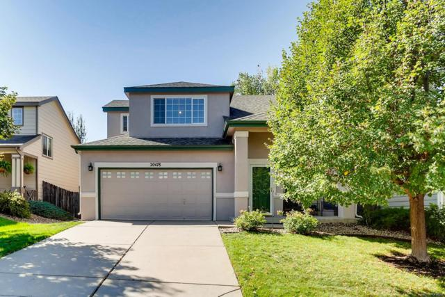 20478 E Milan Place, Aurora, CO 80013 (#6523449) :: The Peak Properties Group