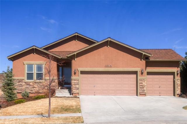 2314 Ledgewood Drive, Colorado Springs, CO 80921 (#6524525) :: Structure CO Group