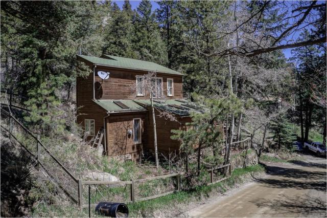 1270 Beaver Brook Canyon Road, Evergreen, CO 80439 (#6526693) :: House Hunters Colorado