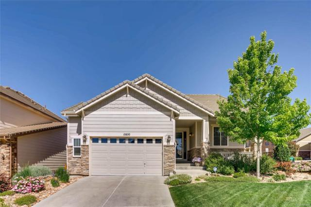 10650 Worthington Circle, Parker, CO 80134 (#6529232) :: The HomeSmiths Team - Keller Williams