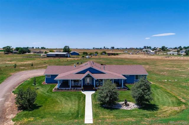 4875 County Road 47, Hudson, CO 80642 (#6530741) :: The DeGrood Team