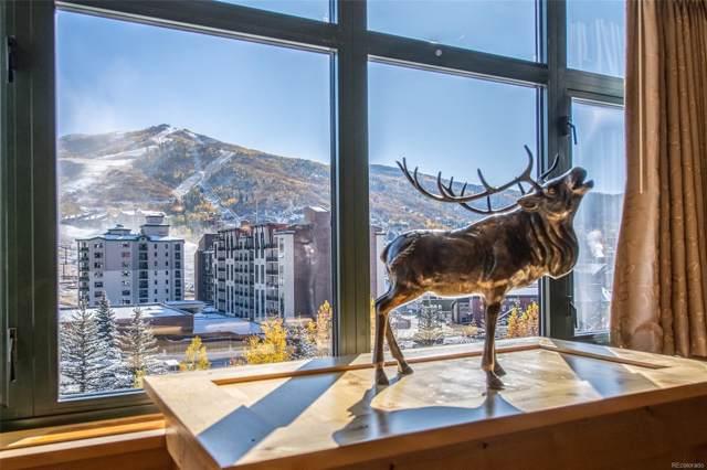 2300 Mt. Werner Circle 435/437, Steamboat Springs, CO 80487 (MLS #6544097) :: Kittle Real Estate