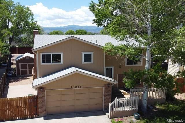 13885 W 66th Drive, Arvada, CO 80004 (#6544195) :: iHomes Colorado