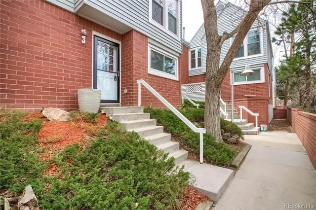 1045 Jasmine Street #3, Denver, CO 80220 (MLS #6544485) :: Kittle Real Estate