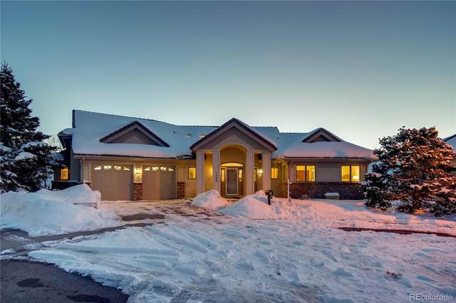 1020 Deer Springs Lane, Golden, CO 80403 (MLS #6545398) :: Kittle Real Estate