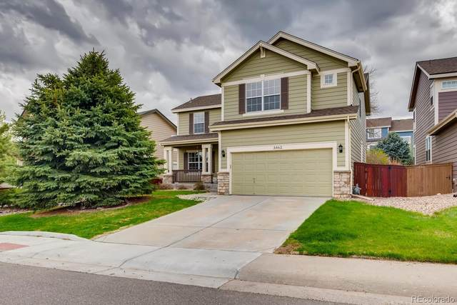 3462 Foxridge Trail, Highlands Ranch, CO 80126 (MLS #6545963) :: The Sam Biller Home Team