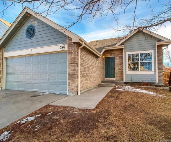 526 W 116th Place, Northglenn, CO 80234 (#6550774) :: The Heyl Group at Keller Williams
