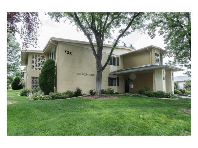 735 S Clinton Street 1B, Denver, CO 80247 (MLS #6553227) :: 8z Real Estate