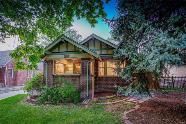 4345 E 17th Avenue Parkway, Denver, CO 80220 (#6553962) :: The DeGrood Team