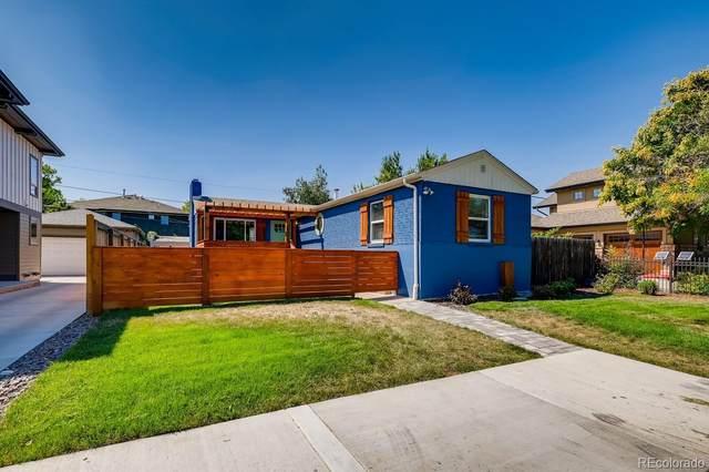 821 Krameria Street, Denver, CO 80220 (#6562129) :: The HomeSmiths Team - Keller Williams