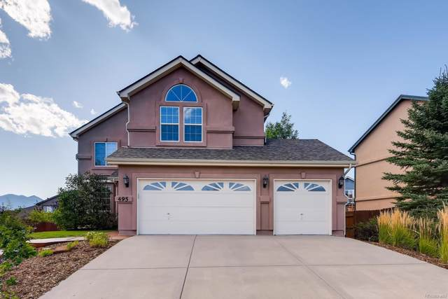 495 Shrubland Drive, Colorado Springs, CO 80921 (MLS #6563279) :: 8z Real Estate