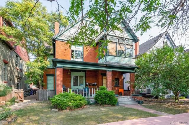 84 N Sherman Street, Denver, CO 80203 (#6563285) :: HomeSmart