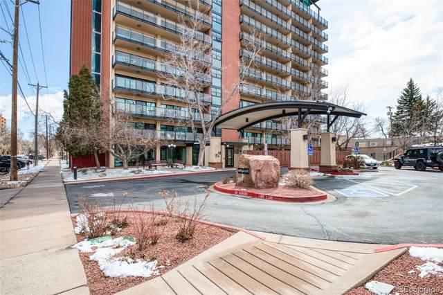 417 E Kiowa Street #905, Colorado Springs, CO 80903 (#6567498) :: Bring Home Denver with Keller Williams Downtown Realty LLC