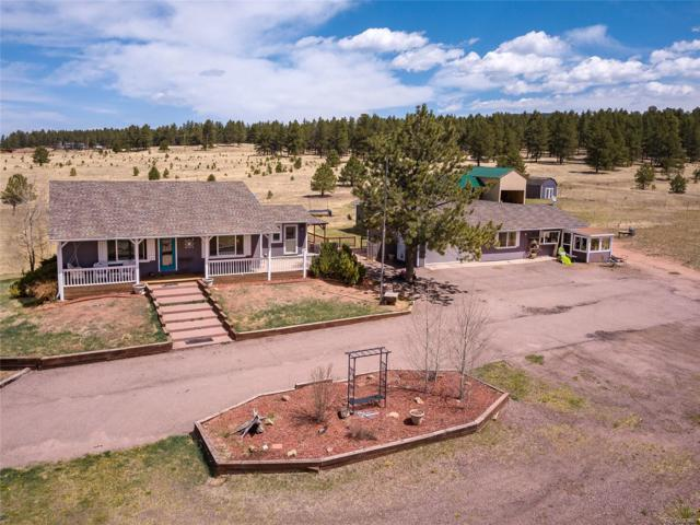 27632 Triple B Road, Woodland Park, CO 80863 (MLS #6569625) :: 8z Real Estate