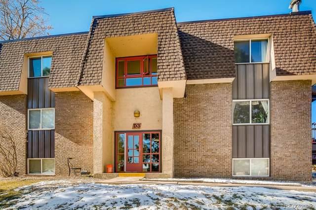 7755 E Quincy Avenue 203D3, Denver, CO 80237 (#6569790) :: Stephanie Fryncko | Keller Williams Integrity
