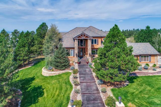 5449 Songbird Way, Parker, CO 80134 (#6572064) :: The Peak Properties Group