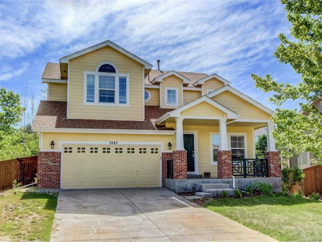 3242 Bentwood Place, Highlands Ranch, CO 80126 (#6572989) :: The Peak Properties Group