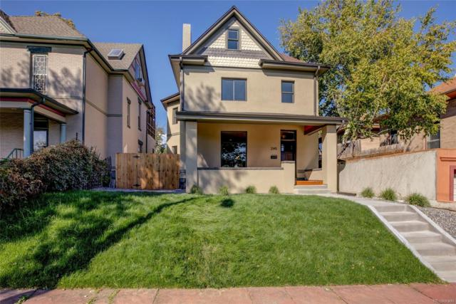 2145 N Williams Street, Denver, CO 80205 (#6575933) :: House Hunters Colorado