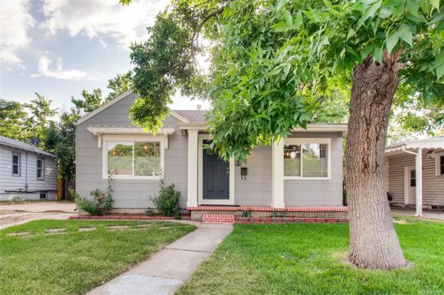 1835 S Cook Street, Denver, CO 80210 (#6579136) :: The HomeSmiths Team - Keller Williams