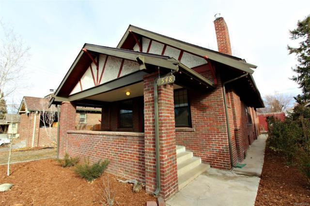 1548 Cherry Street, Denver, CO 80220 (#6579264) :: The Pete Cook Home Group