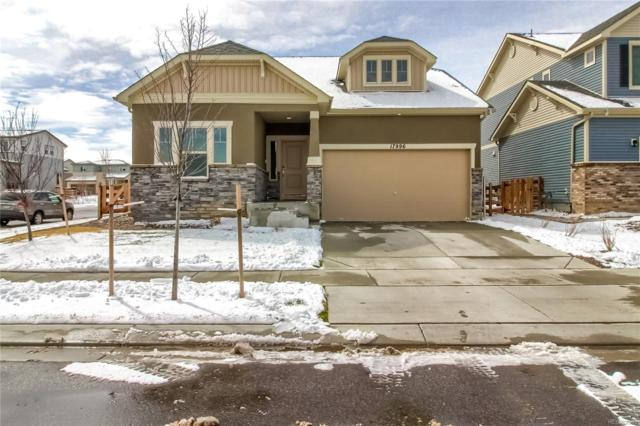 17996 E 107th Way, Commerce City, CO 80022 (#6589158) :: The Heyl Group at Keller Williams
