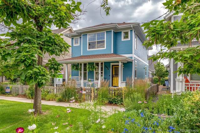 8674 E 29th Place, Denver, CO 80238 (#6590432) :: The HomeSmiths Team - Keller Williams