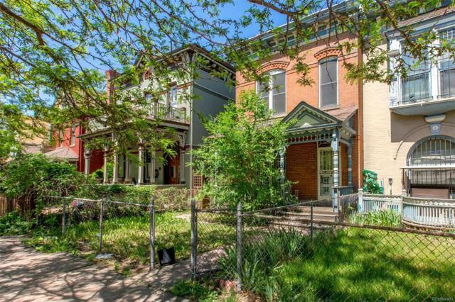 2347 Stout Street, Denver, CO 80205 (#6592069) :: The Pete Cook Home Group
