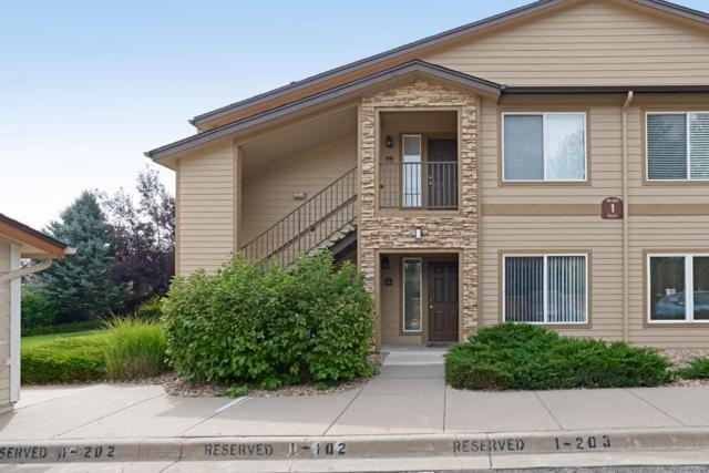 4875 S Balsam Way 1-101, Littleton, CO 80123 (#6592773) :: The Peak Properties Group