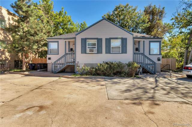 1458 Ivy Street, Denver, CO 80220 (#6600106) :: iHomes Colorado