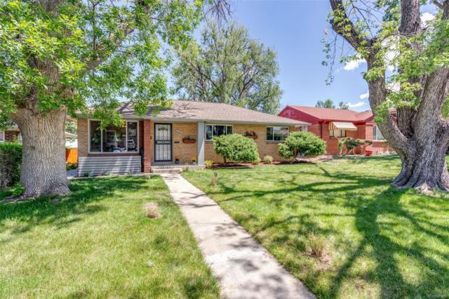 3232 Leyden Street, Denver, CO 80207 (#6607722) :: milehimodern