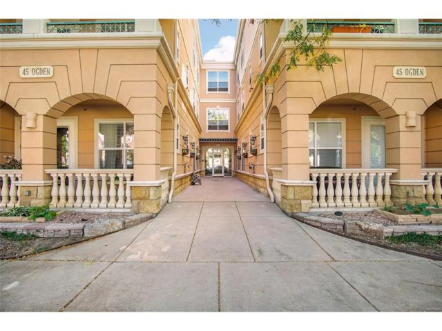 45 N Ogden Street #309, Denver, CO 80218 (MLS #6612118) :: 8z Real Estate