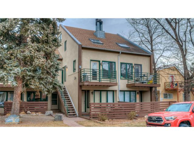 1825 Marine Street #11, Boulder, CO 80302 (#6614329) :: The Galo Garrido Group