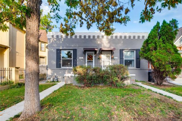 258 S Sherman Street, Denver, CO 80209 (#6620478) :: My Home Team