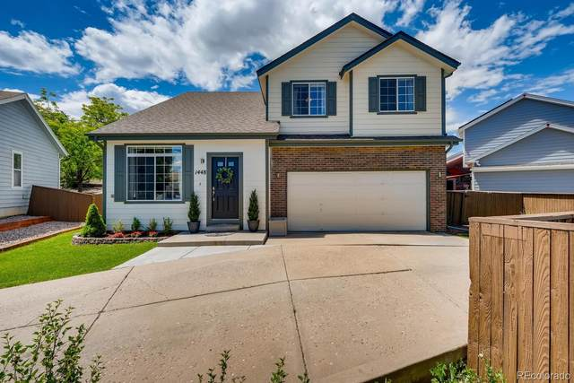 1448 Sunnyside Street, Highlands Ranch, CO 80126 (#6623122) :: The Gilbert Group