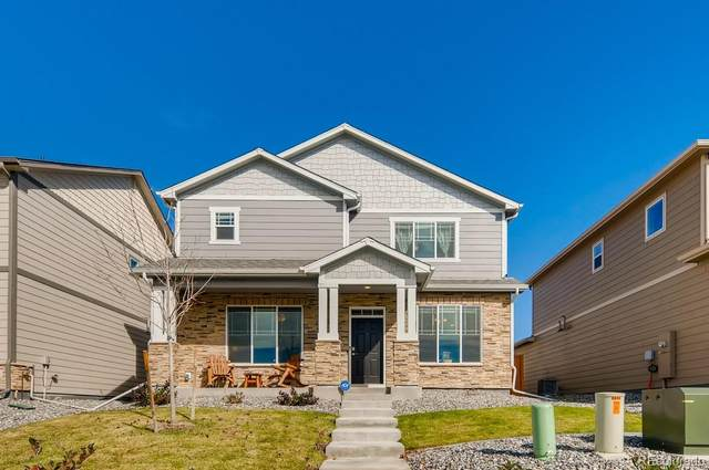 6694 Longpark Drive, Parker, CO 80138 (MLS #6627921) :: 8z Real Estate