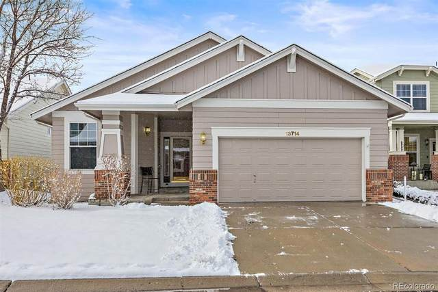 13714 W 61st Circle, Arvada, CO 80004 (MLS #6632157) :: The Sam Biller Home Team