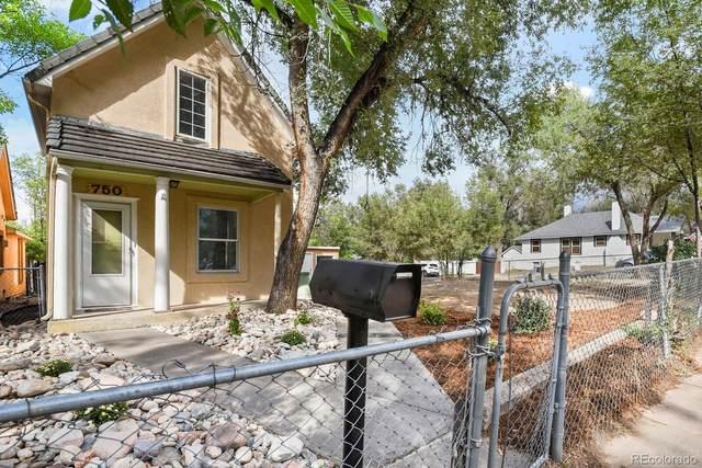 750 E Cimarron Street, Colorado Springs, CO 80903 (#6633818) :: iHomes Colorado