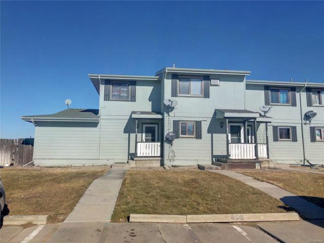 858 N View Circle, Limon, CO 80828 (#6635366) :: The HomeSmiths Team - Keller Williams