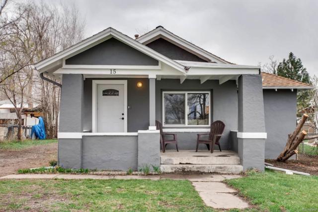 15 Grove Street, Denver, CO 80219 (#6639672) :: The Peak Properties Group